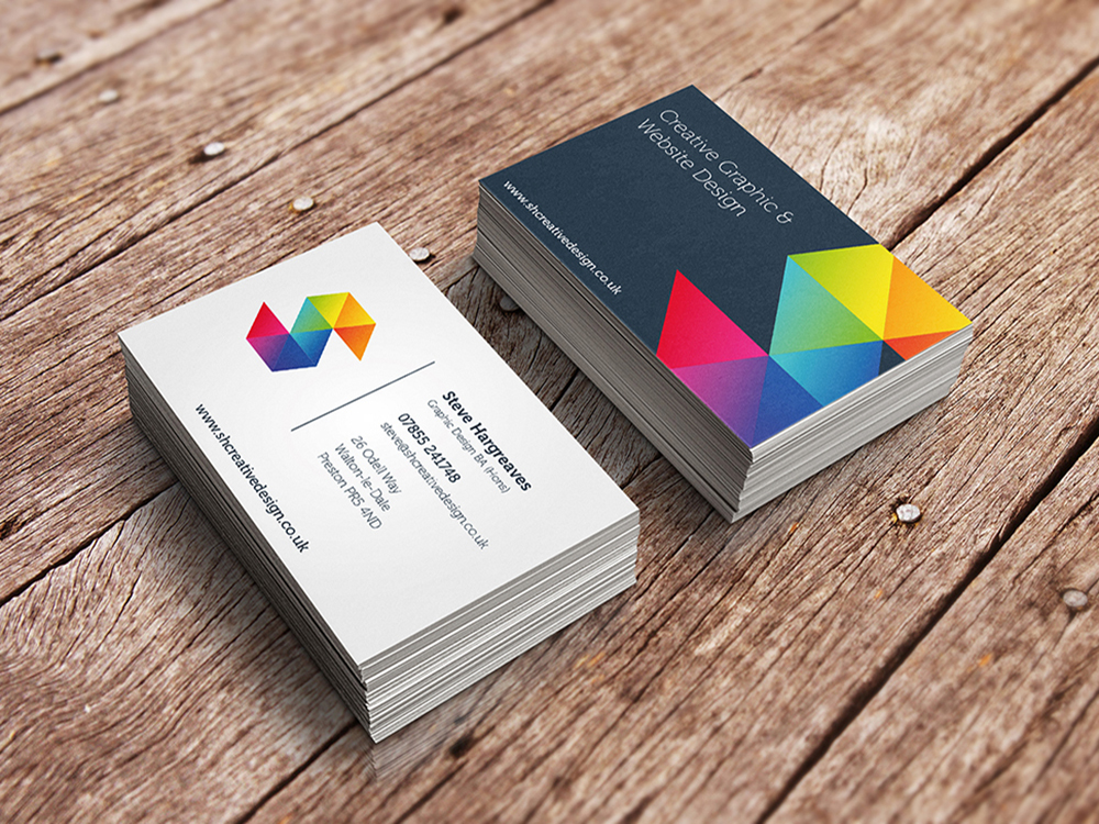Creative Design Business Cards – SH Creative Design